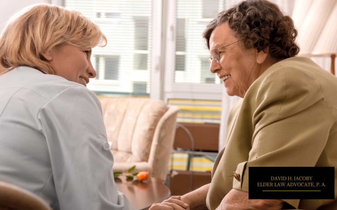 How Friends Can Bond with Elder Loved Ones in Nursing Homes